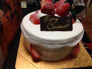 苺のノエル クリスマスケーキ